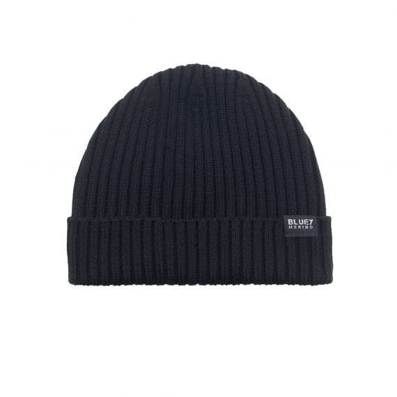 Fishermans Knit Beanie_Midnight